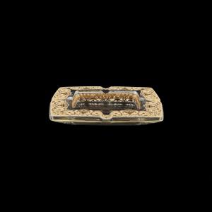 Torcello PO TELI Ashtray 15x15cm 1pc in Flora´s Empire Golden Ivory Light Decor (25-706/L)