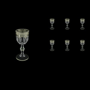 Provenza C5 PESK Liqueur Glasses 50ml 6pcs in Flora´s Empire P. Crystal Light (20-1/521/L)