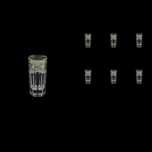 Provenza B5 PESK Liqueur Tumblers 50ml 6pcs in Flora´s Empire P. Crystal L. (20-1/520/L)