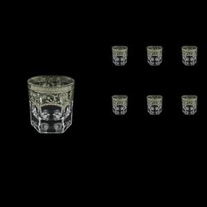 Provenza B3 PESK Whisky Glasses 185ml 6pcs in Flora´s Empire P. Crystal Light (20-1/526/L)