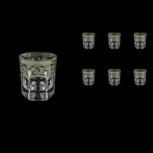 Provenza B2 PESK Whisky Glasses 280ml 6pcs in Flora´s Empire P. Crystal Light (20-1/527/L)