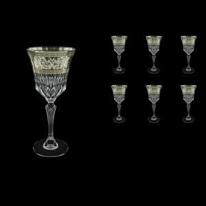 Adagio C2 AASK Wine Glasses 280ml 6pcs in Allegro Platinum Light Decor (65-1/644/L)