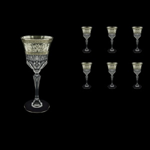 Adagio C3 AASK Wine Glasses 220ml 6pcs in Allegro Platinum Light Decor (65-1/643/L)