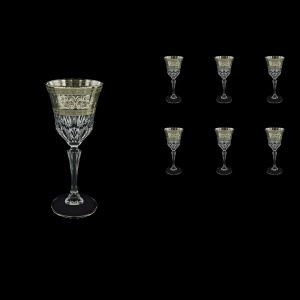Adagio C4 AASK Wine Glasses 150ml 6pcs in Allegro Platinum Light Decor (65-1/642/L)