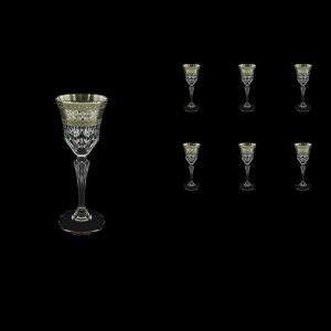 Adagio C5 AASK Liqueur Glasses 80ml 6pcs in Allegro Platinum Light Decor (65-1/641/L)