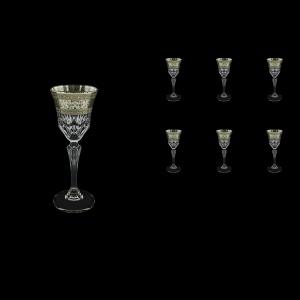 Adagio C5 AASK Liqueur Glasses 80ml 6pcs in Allegro Platinum Light Decor (65-1/641/L)
