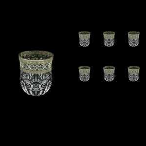 Adagio B2 AASK Whisky Glasses 350ml 6pcs in Allegro Platinum Light Decor (65-1/646/L)