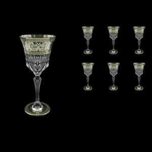 Adagio C2 AASK D Wine Glasses 280ml 6pcs in Allegro Platinum Light Decor+D (66-1/644/L)