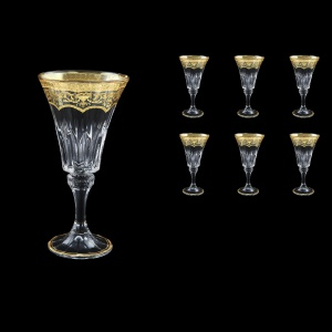 Wellington C2 WELK Wine Glasses 280ml 6pcs in Flora´s Empire G. Crystal Light (20-758/L)