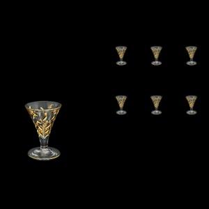 Laurus C55 LLG Liqueur Glasses 60ml 6pcs in Gold (1322)