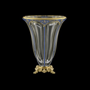 Panel VVZ PEGC B Vase 33cm 1pc in Flora´s Empire Golden Blue Decor (23-610/O.245)