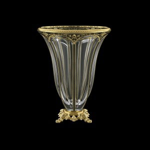 Panel VVZ PEGB B Vase 33cm 1pc in Flora´s Empire Golden Black Decor (26-610/O.245)