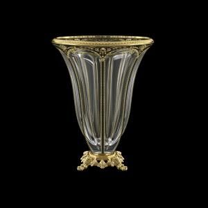 Panel VVZ PEGB B Vase 33cm 1pc in Flora´s Empire Golden Black Decor (26-610/O.245)