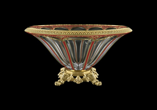 Panel MVZ PEGR B Large Bowl 33cm 1pc in Flora´s Empire Golden Red Decor (22-611/O.25)