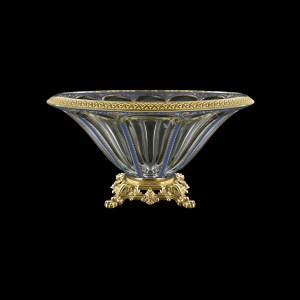 Panel MVZ PEGC B Large Bowl 33cm 1pc in Flora´s Empire Golden Blue Decor (23-611/O.25)