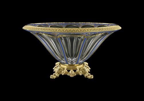 Panel MVZ PEGC B Large Bowl 33cm 1pc in Flora´s Empire Golden Blue Decor (23-611/O.25)