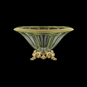 Panel MVZ PEGG B Large Bowl 33cm 1pc in Flora´s Empire Golden Green Decor (24-611/O.25)