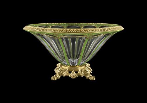 Panel MVZ PEGG B Large Bowl 33cm 1pc in Flora´s Empire Golden Green Decor (24-611/O.25)