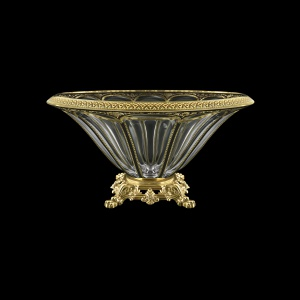 Panel MVZ PEGB B Large Bowl 33cm 1pc in Flora´s Empire Golden Black Decor (26-611/O.25)