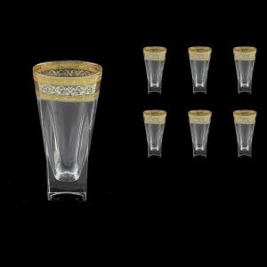 Fusion B0 FALK Water Glasses 384ml 6pcs in Allegro Golden Light Decor (65-781/L)