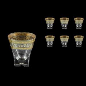 Fusion B3 FALK Whisky Glasses 200ml 6pcs in Allegro Golden Light Decor (65-779/L)