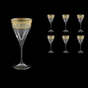 Fusion C2 FALK D Wine Glasses 250ml 6pcs in Allegro Golden Light Decor (65-774/L)