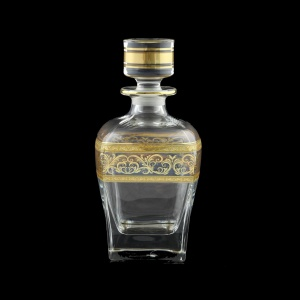 Fusion WD FALK Whisky Decanter 800ml 1pc in Allegro Golden Light Decor (65-782/L)