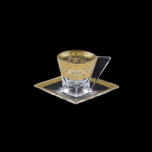 Fusion ES FALK Cup Espresso 76ml 1pc in Allegro Golden Light Decor (65-784/L)