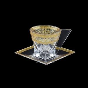 Fusion CA FALK Cup Cappuccino 190ml 1pc in Allegro Golden Light Decor (65-785/L)