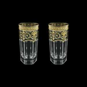 Provenza B0 PELK Water Glasses 370ml 2pcs in Flora´s Empire G. Crystal Light (20-525/2/L)