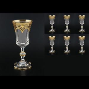 Diamantis C3 Wine Crystal Glass in Flora´s Empire Crystal Light 170ml 6pcs (20-001/L)