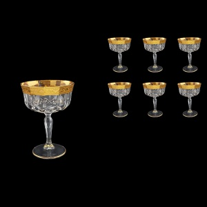 Opera CCH ONGC Champagne Bowl 240ml 6pcs in Romance Golden Classic Decor (33-156)