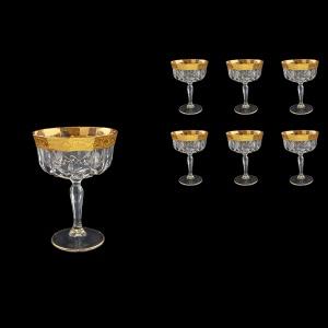 Opera CCH ONGC Champagne Bowl 240ml 6pcs in Romance Golden Classic Decor (33-156)