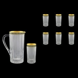 Timeless Set J+B0 TMGB S 1200ml+6x440ml 1+6pcs in Lilit Golden Black Decor+S (31-114/133)