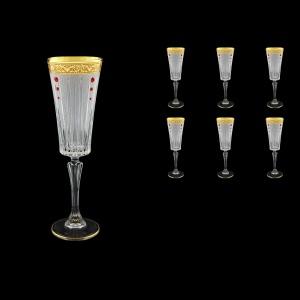 Timeless CFL TNGC SKLI Champagne Fluetes 210ml 6pcs in Romance G. Cl. +SKLI (33-131/bKLI)
