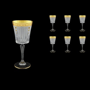 Timeless C2 TNGC SKTO Wine Glasses 298ml 6pcs in Romance Golden Classic+SKTO (33-130/bKTO)