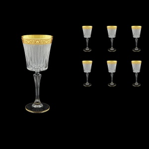 Timeless C3 TNGC S Wine Glasses 227ml 6pcs in Romance Golden Classic Decor+S (33-129)