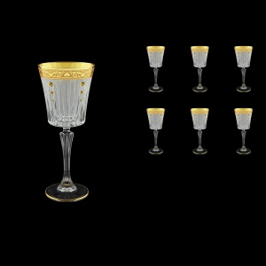 Timeless C3 TNGC SKTO Wine Glasses 227ml 6pcs in Romance Golden Cl. D.+SKTO (33-129/bKTO)