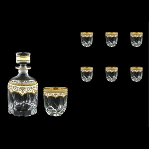 Trix Set WD+B2 TEGW Whisky Set 800ml+6x400ml in Flora´s Empire Gold. White D. (21-569/566)