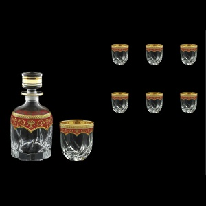 Trix Set WD+B2 TEGR Whisky Set 800ml+6x400ml in Flora´s Empire Gold. Red D. (22-569/566)