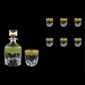 Trix Set WD+B2 TEGG Whisky Set 800ml+6x400ml in Flora´s Empire Gold. Green D. (24-569/566)