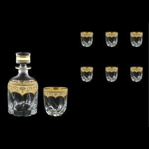 Trix Set WD+B2 TEGI Whisky Set 800ml+6x400ml in Flora´s Empire Gold. Ivory D. (25-569/566)