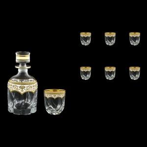 Trix Set WD+B3 TEGW Whisky Set 800ml+6x290ml in Flora´s Empire Gold. White D. (21-569/565)