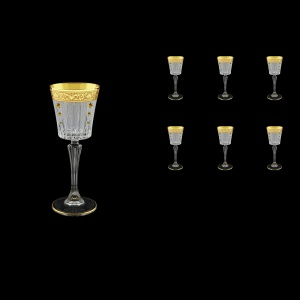 Timeless C5 TNGC SKTO Liqueur Glasses 110ml 6pcs in Romance Gold. C. D.+SKTO (33-112/bKTO)