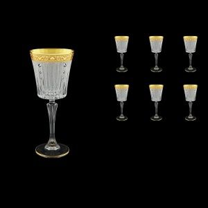 Timeless C3 TNGC SKCR Wine Glasses 227ml 6pcs in Romance Golden Cl. D.+SKCR (33-129/bKCR)