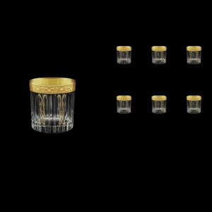 Timeless B3 TNGC H Whisky Glasses 313ml 6pcs in Romance Golden Classic Decor+H (33-279/H)