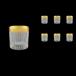 Timeless B2 TNGC SKCR Whisky Glasses 360ml 6pcs in Romance Gold. Cl. D.+SKCR (33-132/bKCR)