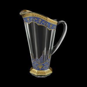 Stella J SEGC Jug 1300ml 1pc in Flora´s Empire Golden Blue Decor (23-804)