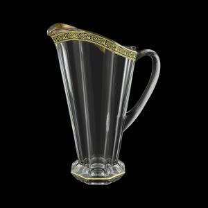 Stella J SMGB Jug 1300ml 1pc in Lilit Golden Black Decor (31-801)