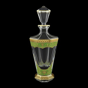 Stella WD SEGG Whisky Decanter 850ml 1pc in Flora´s Empire Golden Green Decor (24-805)